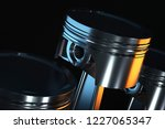 3d illustration of piston on a... | Shutterstock . vector #1227065347