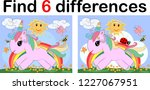 find the difference the two... | Shutterstock .eps vector #1227067951