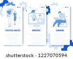 modern cartoon flat characters... | Shutterstock .eps vector #1227070594