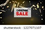 sale new year confetti... | Shutterstock .eps vector #1227071107