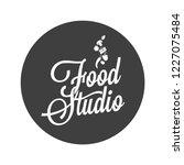 food studio vintage avatar on...   Shutterstock .eps vector #1227075484