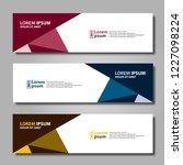 banner background modern... | Shutterstock .eps vector #1227098224