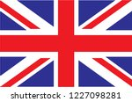 uk. union jack. flag of united... | Shutterstock .eps vector #1227098281