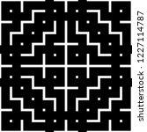 ethnic pattern. tribal motif.... | Shutterstock .eps vector #1227114787