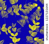 watercolor seamless pattern... | Shutterstock . vector #1227131644
