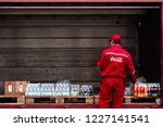 minsk  belarus   nov 2018....   Shutterstock . vector #1227141541