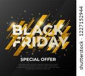 black friday sale. fashion...   Shutterstock .eps vector #1227152944