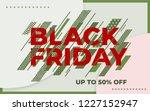 black friday sale banner....   Shutterstock .eps vector #1227152947
