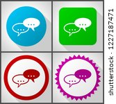 vector icons with 4 options....   Shutterstock .eps vector #1227187471