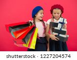 shopping become fun with best... | Shutterstock . vector #1227204574