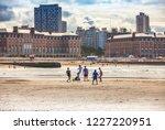 mar del plata  argentina   26... | Shutterstock . vector #1227220951
