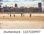 mar del plata  argentina   26... | Shutterstock . vector #1227220957