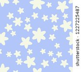 spring vector seamless pattern... | Shutterstock .eps vector #1227225487