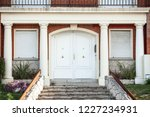 decorative entrance of one of... | Shutterstock . vector #1227234931