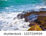 waves of the atlantic ocean... | Shutterstock . vector #1227234934