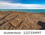 unusual background of stones ... | Shutterstock . vector #1227234997