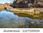 unusual background of stones ... | Shutterstock . vector #1227235024
