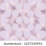 christmas bronze glitter... | Shutterstock .eps vector #1227235951