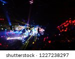 defocused entertainment concert ... | Shutterstock . vector #1227238297