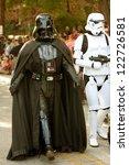 Постер, плакат: Darth Vader and stormtrooper