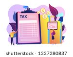 businessman and accountant... | Shutterstock .eps vector #1227280837
