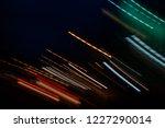 long exposure photograph of... | Shutterstock . vector #1227290014