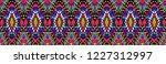 ikat geometric folklore...   Shutterstock .eps vector #1227312997