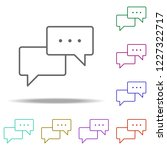 dialog icon. elements of...