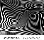 optical art background. wave... | Shutterstock .eps vector #1227340714