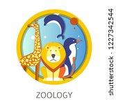 zoology school discipline study ...   Shutterstock .eps vector #1227342544