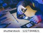 service repair electronics | Shutterstock . vector #1227344821