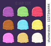various delicious colorful...   Shutterstock .eps vector #1227346444