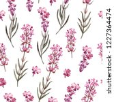 watercolor pattern with... | Shutterstock . vector #1227364474