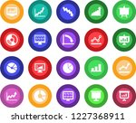 round color solid flat icon set ... | Shutterstock .eps vector #1227368911