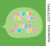 this is a transparent speech... | Shutterstock .eps vector #1227375991