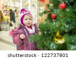 Adorable Girl In Winter Hat And ...