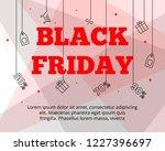modern flat black friday big... | Shutterstock . vector #1227396697