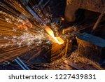 Blacksmith Manually Forging Th...