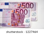 500 euros   Shutterstock . vector #1227464