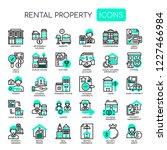 rental property investing  ... | Shutterstock .eps vector #1227466984