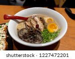 japanese style noodle chashu... | Shutterstock . vector #1227472201