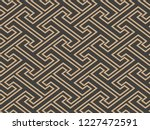 vector damask seamless retro...   Shutterstock .eps vector #1227472591