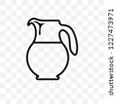 Pitcher Vector Linear Icon...