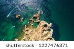 aerial of scenic ponta da... | Shutterstock . vector #1227476371