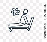 man sunbathing vector outline...   Shutterstock .eps vector #1227488737