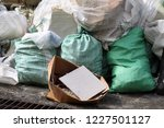 pile of garbage plastic and...   Shutterstock . vector #1227501127