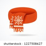 realistic 3d detailed red soft... | Shutterstock .eps vector #1227508627