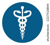 medical or healthcare symbol  ... | Shutterstock . vector #1227510844