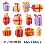 vector set of different... | Shutterstock .eps vector #1227518371