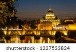 Illuminated St. Peter's...